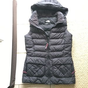 North Face goose down vest